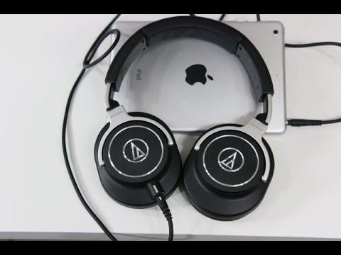 Audio Technica ATH-M70X Headphones Unboxing