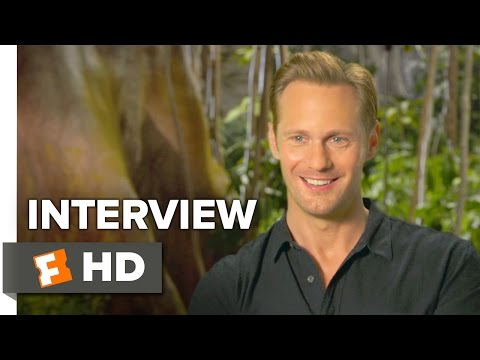 The Legend of Tarzan Interview - Alexander Skarsgård (2016) - Adventure Movie