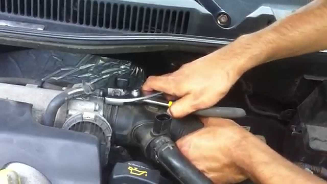 How to clean throttle body on VW golf MK4 YouTube