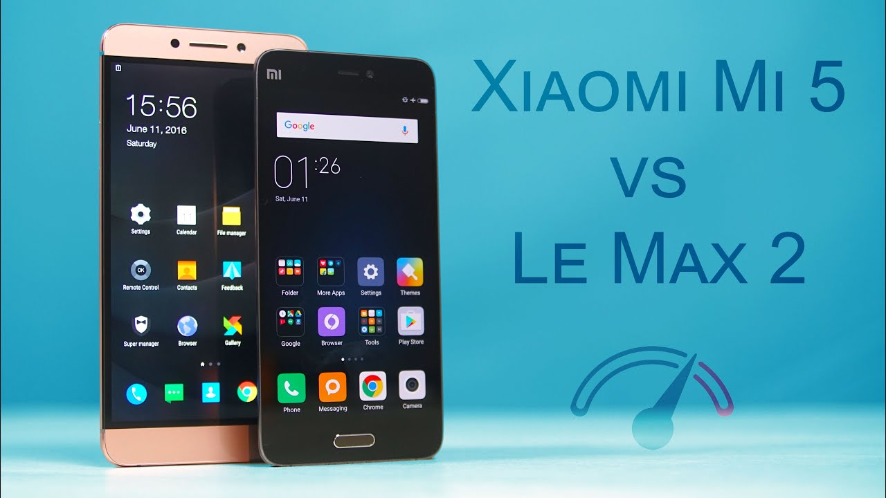 xiaomi mi 5 vs leeco le max 2 speedtest comparison youtube. Black Bedroom Furniture Sets. Home Design Ideas