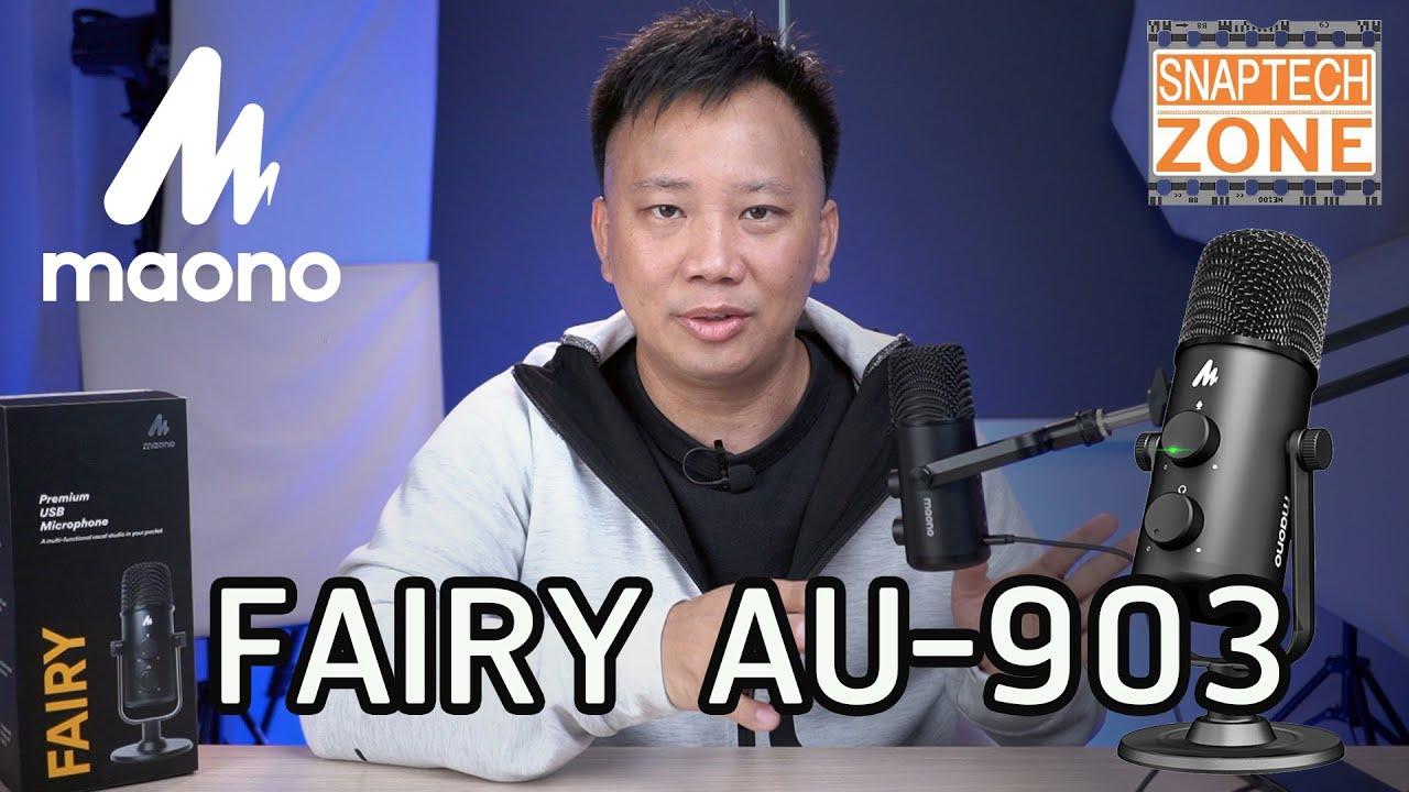 ไมค์ USB ราคาดี Maono Fairy AU-903  [SnapTech EP137]
