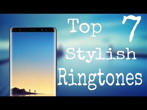 Top 7 Stylish Ringtones With Download link (Part - 1)