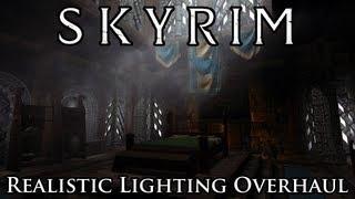 Skyrim Mod Realistic Lighting Overhaul & Download Skyrim Mod Comparison Realistic Lighting Overhaul V4 8 Vs ...