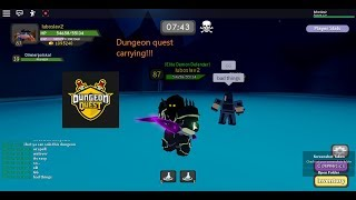 Roblox Dungeon Quest carrying a friend (Fetaring Oli)