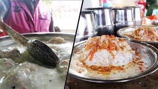 Erode Famous Curd Vadai and Kammang koozh | Tasty Street Foods at Kadukkan vilas