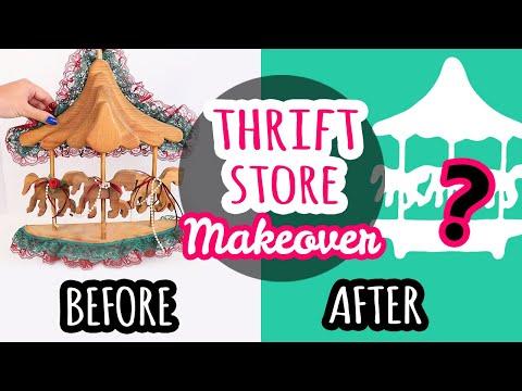 Thrift Store Makeover #4