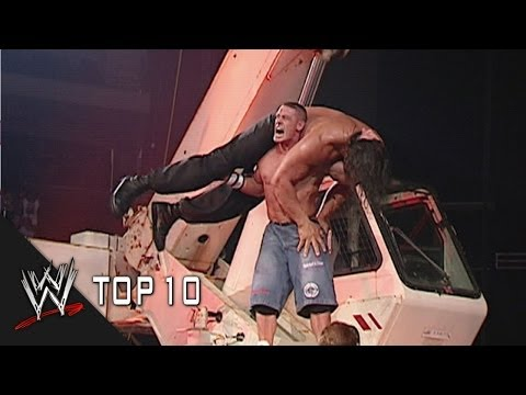 Extreme Attitude Adjustments - WWE Top 10
