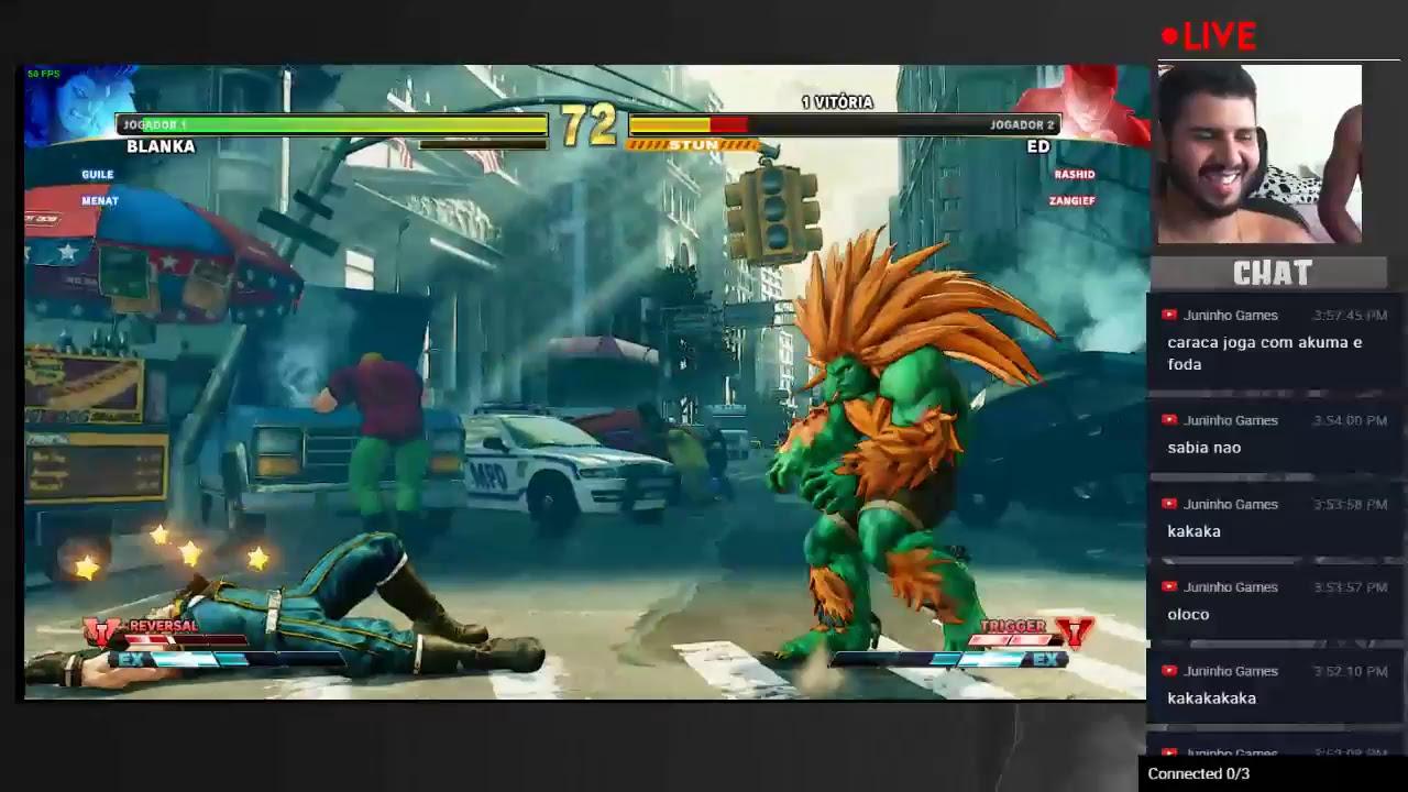 0308bc9d7 Street fighter V - Apredendo jogar de Blanka - YouTube