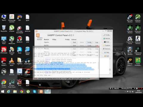 Two ways to solve xampp apache not starting problem(2015)