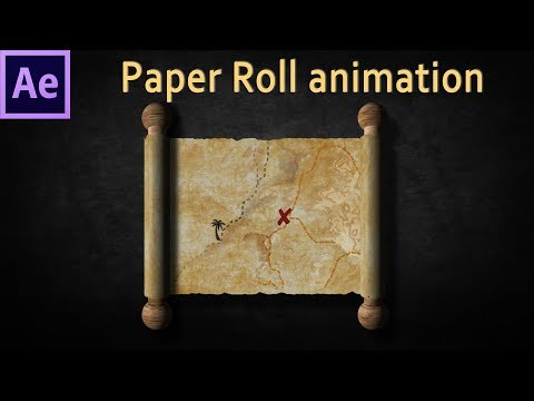 Paper animation After Effects tutorial