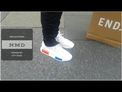 END.Clothing NMD OG white \u0026 CITY SOCK