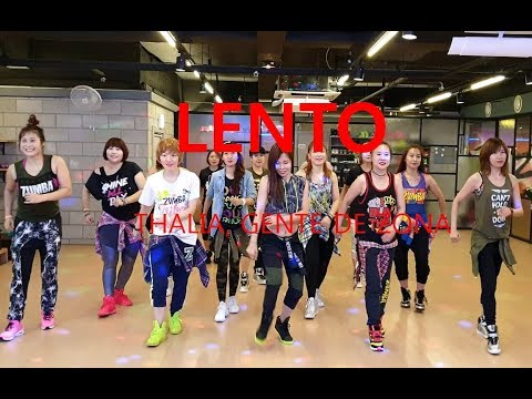 I LOVE ZUMBA / LENTO - THALIA, GENTE DE ZONA / 줌바 렌토