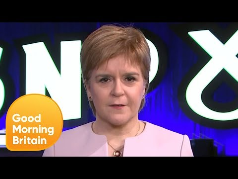 Nicola Sturgeon: People Have a Right to Change Their Mind | Good Morning Britain