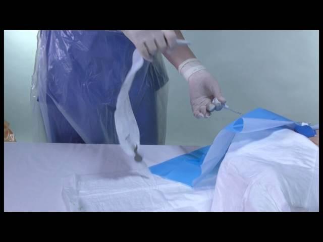 How to flush a Nephrostomy Drain