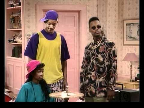 Fresh Prince of Bel Air: Drum Lesson - Will Smith geht ab ;)