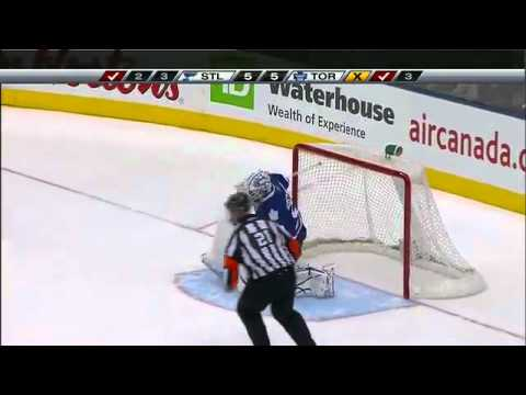 01/06/2011 Blues vs. Maple Leafs Shootout