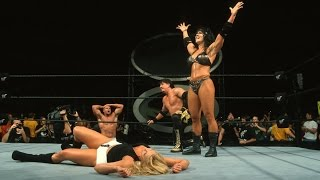 Chyna & Eddie Guerrero vs Trish Stratus & Val Venis - Mixed Intercontinental Title: SummerSlam 2000