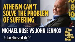 Oxford Professor John Lennox: Atheism can't solve the problem of suffering