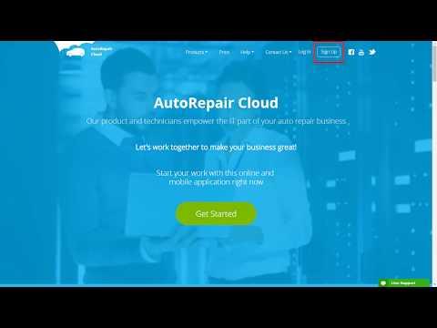 AutoRepair Cloud - Promo