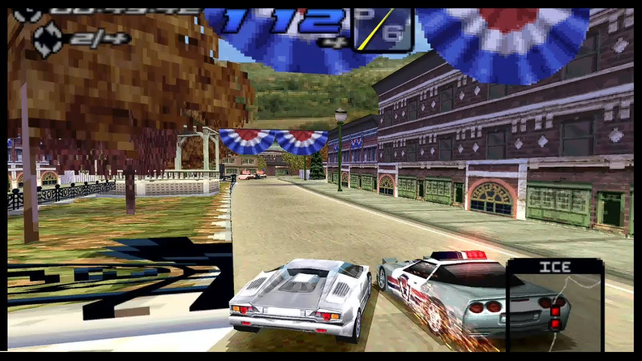 Need For Speed Iii Hot Pursuit Ps1 With Perspective Correction