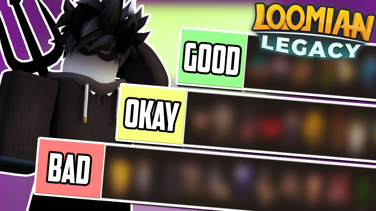 The BEST Loomians THIS SEPHARITE CITY UPDATE!!