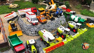 BRUDER TOYS IN ACTION!! TRACTOR and TRUCK