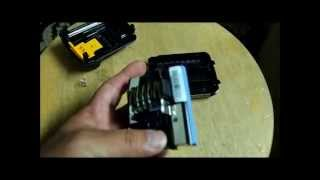 The guts of the Dewalt 12v Lithium ion battery