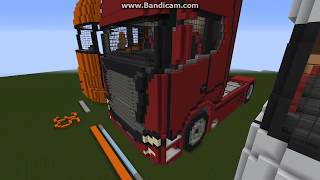 Scania S series truck in minecraft