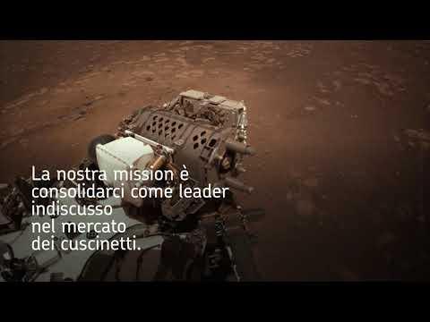 Cuscinetti a sfere Kaydon RealiSlim per il rover Perseverance su Marte