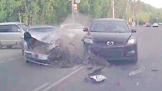 Жесткие аварии Июнь 2016 вторая неделя