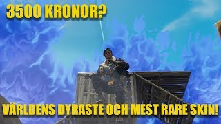 VÄRLDENS DYRASTE SKIN. SUPER RARE. (Min första vinst med Royale Bomber) | FORTNITE PÅ SVENSKA