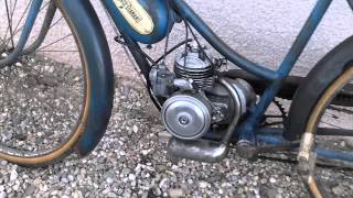 Cyclomoteur ancien avec moteur Vap.4