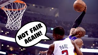 """NBA """"UNFAIR"""" Posterizes Part 2"""
