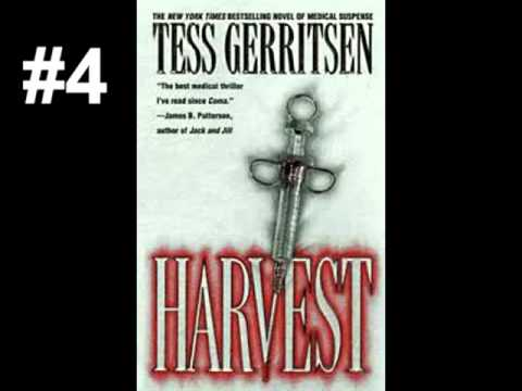 Tess Gerritsen - 10 Best Books - YouTube