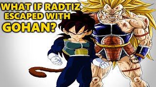 What if Raditz Escaped with Gohan?