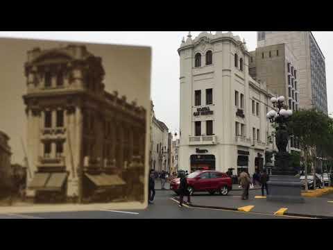 Lima Antigua Hoy - Video 1 - Teatro Colón - Edificio Giacoletti