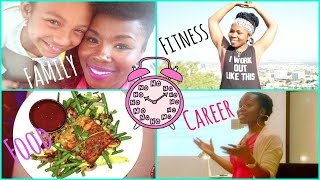 How to Lose Weight With a Busy Lifestyle || How I Manage a Fitness Schedule Exercise, Family, Career