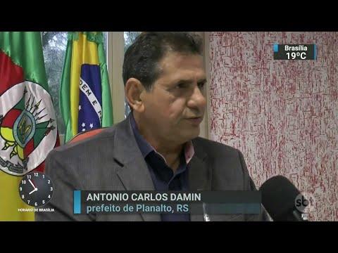 Prefeito do RS é investigado por abusar de adolescente de 13 anos | SBT Brasil (15/05/18)