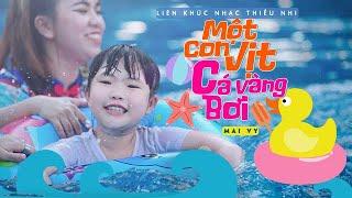 LK Một Con Vịt, Cá Vàng Bơi ♪ Bé MAI VY Thần Đông Âm Nhạc Việt Nam [MV Official] Nhạc Thiếu Nhi Hay