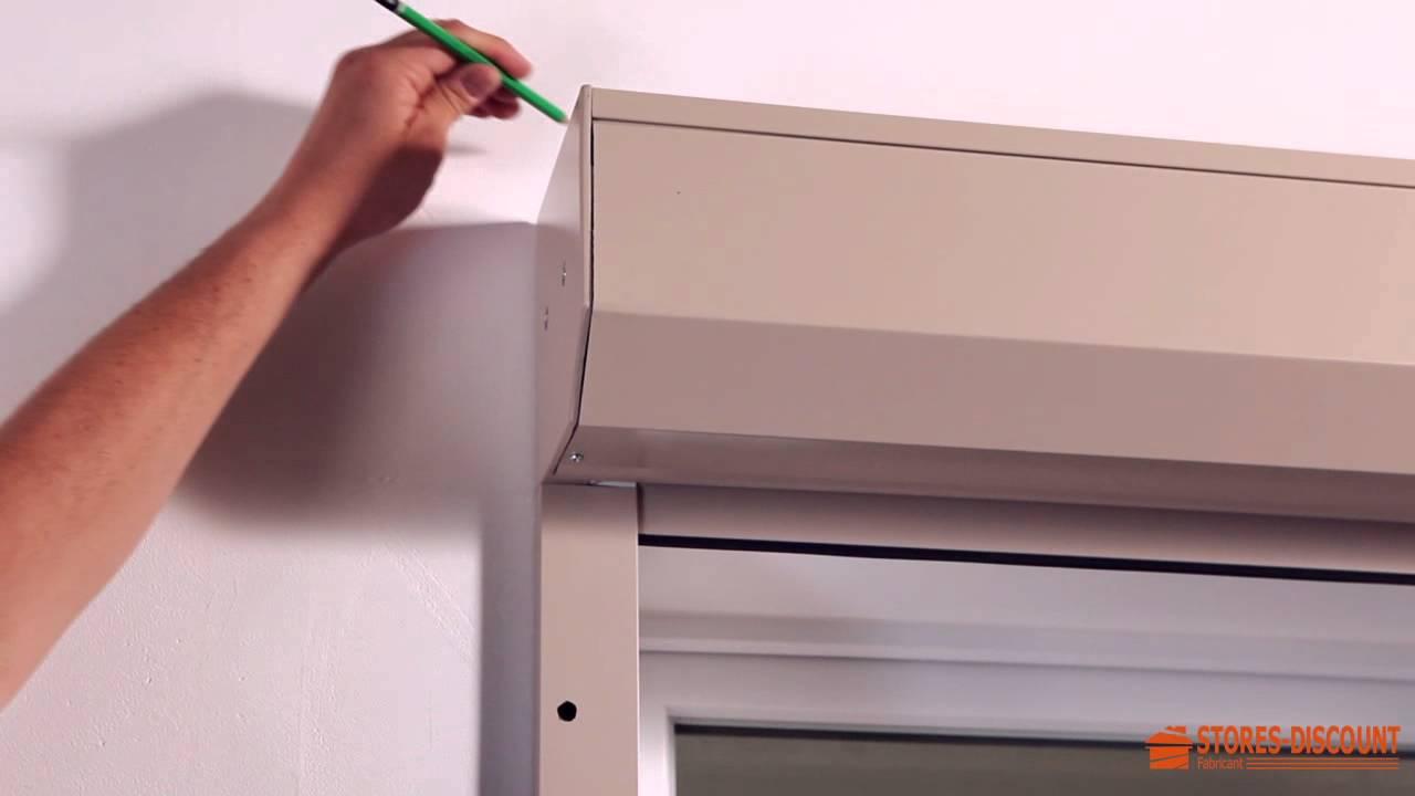 Comment Poser Un Volet Roulant Renovation En Applique Contre Une Facade Youtube