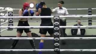 Merle Hein (EST) vs Kamila Berek (POL) K-1 FFC Open 2014