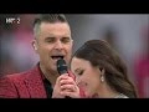 Robbie Williams & Aida Garifullina  -  Angels ( Live in Moscow )