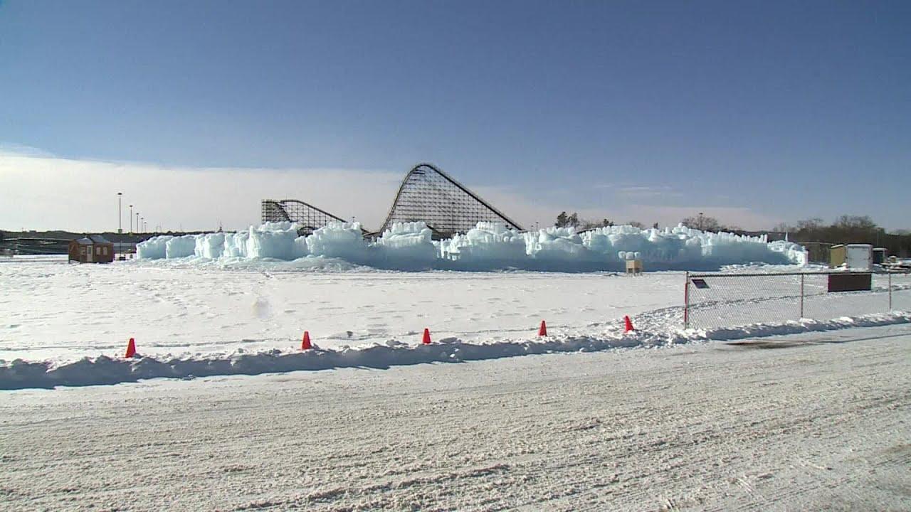 stunning ice castle opens
