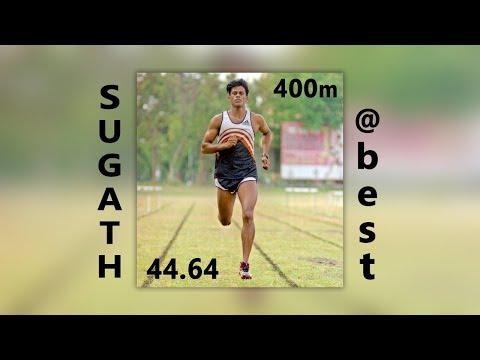Sugath Thilakaratne 1998 Commonwealth 400m Bronze Medal