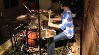 five finger death punch burn mf drum cover 14 year old drummer luke martin