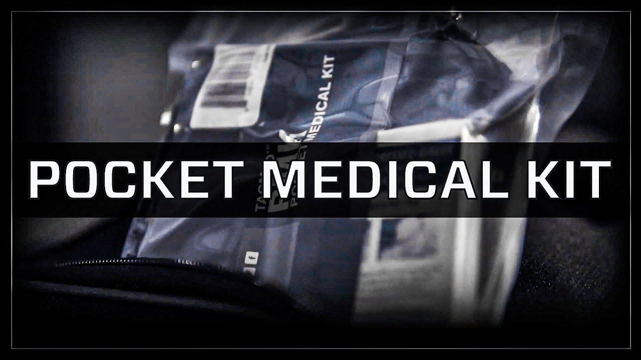 71b03a492b Pocket Trauma Kit, Pocket Medical Kit (PMK) TacMed Solutions