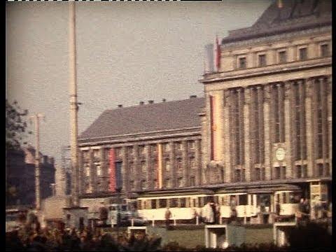 Visiting Leipzig, East-Germany in 1959