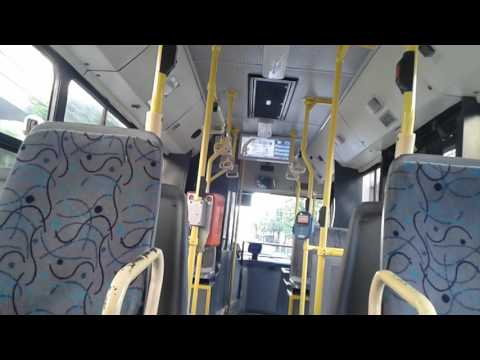 Athens bus a ride with Ελβο/Neoplan N4007 (3)