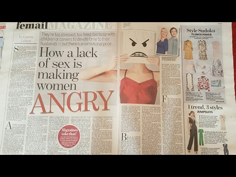 Talking about our sex life to the daily mail