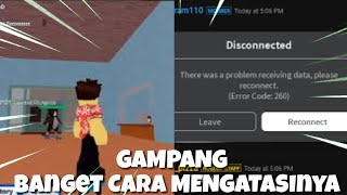 How to solve Lost Connection in Roblox games (Android version)